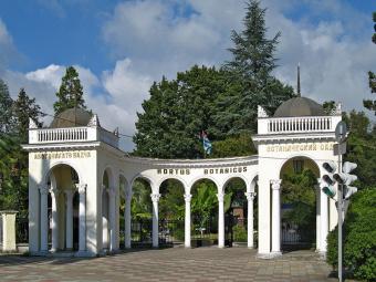 """Экскурсия: """"Абхазия. Сухум (обезьяний питомник + ботанический сад + набережная) + Гагра + Н.Афон"""""""